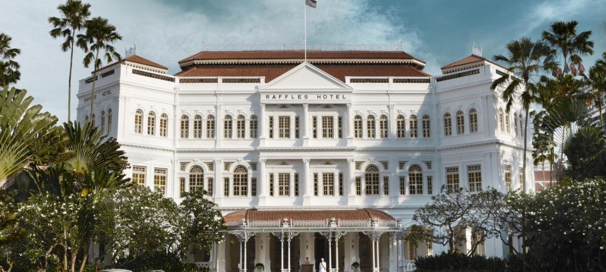Herzlich Willkommen im Raffles Singapur