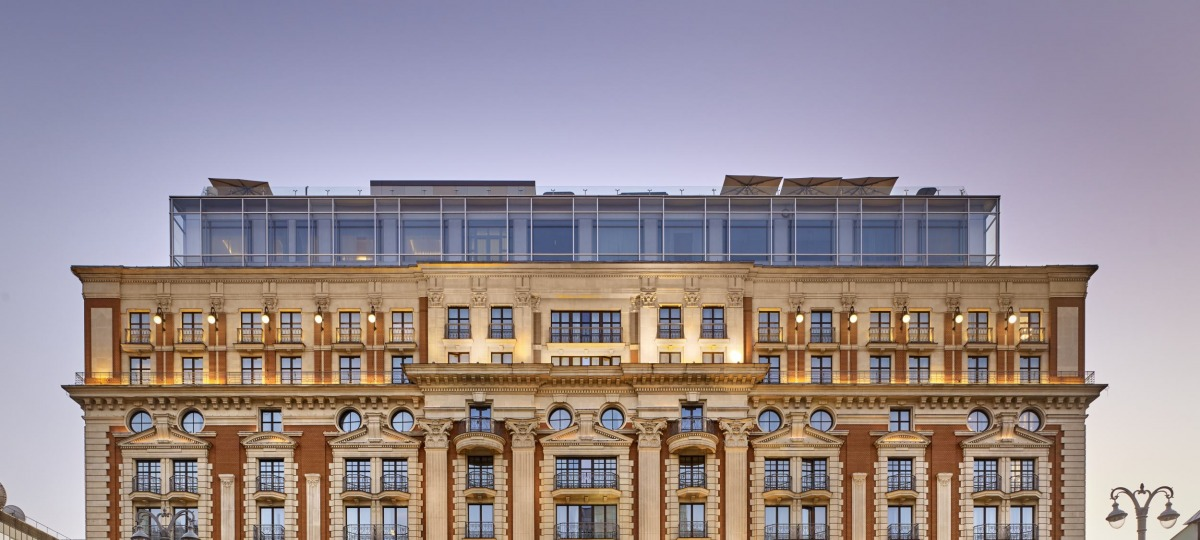 Das Ritz-Carlton in Moskau heißt Sie herzlich willkommen