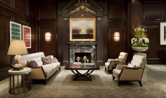 Elegantes Interieur im Rosewood Georgia