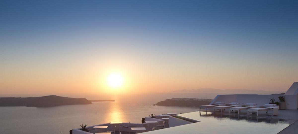 Geniessen Sie den Sonnenuntergang