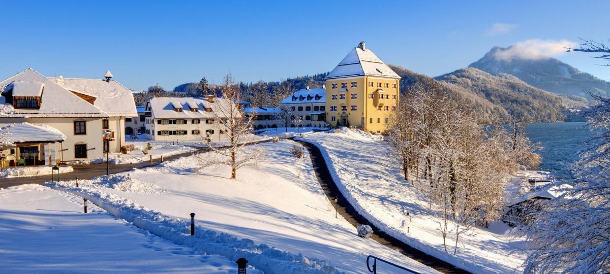 Verträumtes Schloss auch im Winter