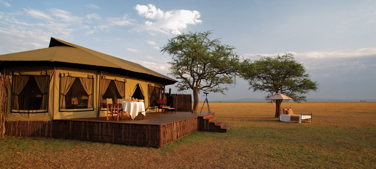 Das Singita Sabora Tented Camp