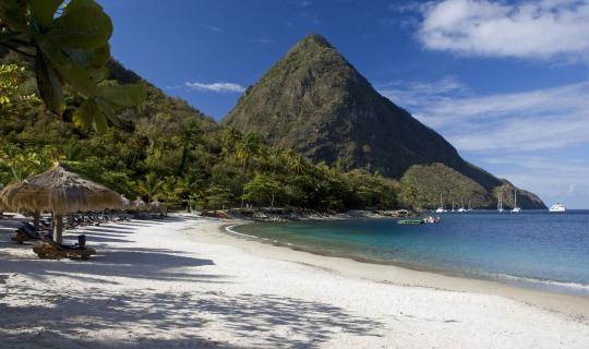 Sonnenbaden am Sugar Beach