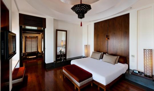 Wunderschönes Design der Zimmer und Suiten