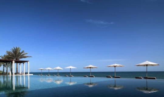 Entspannen Sie an einem der drei Pools