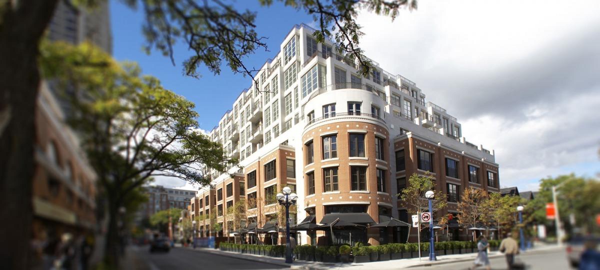 The Hazelton Hotel mitten im Yorkville-Viertel