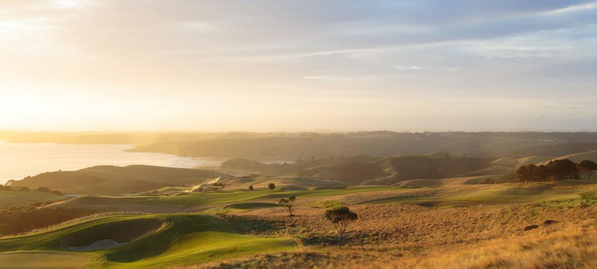 Der Golfplatz wird Sie begeistern
