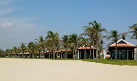 Traumhafte Lage der Beachfront Villen