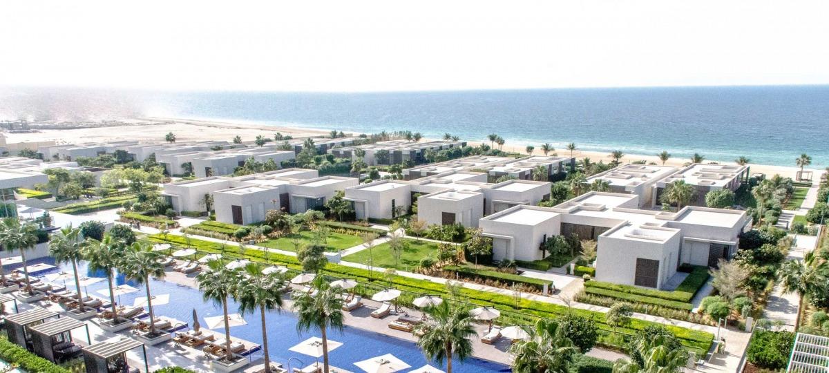 Herzlich Willkommen im The Oberoi Beach Resort, Al Zorah