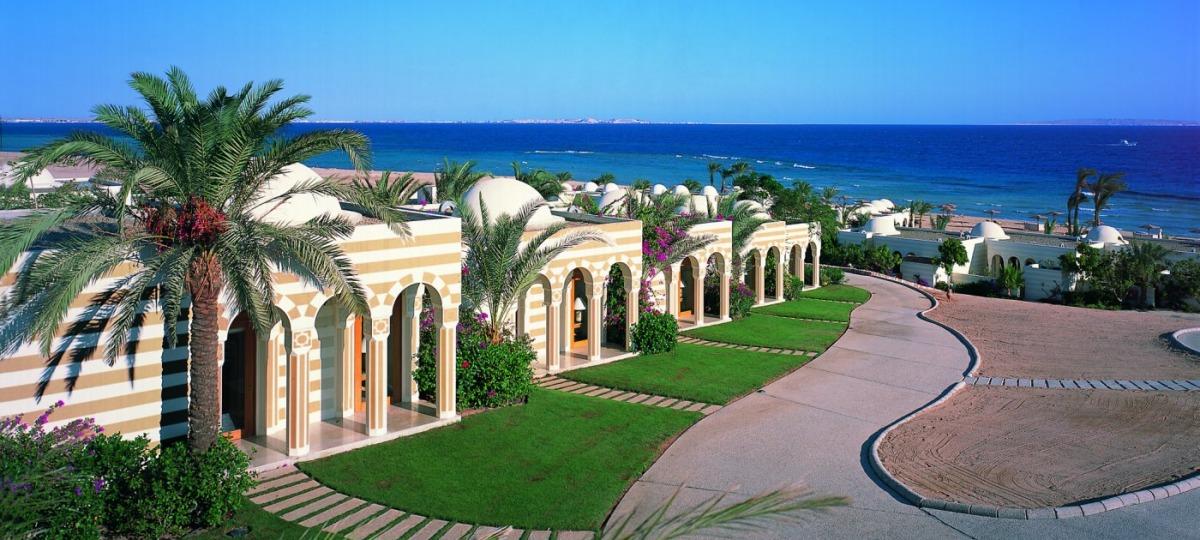 Herzlich Willkommen im The Oberoi Beach Resort, Sahl Hasheesh