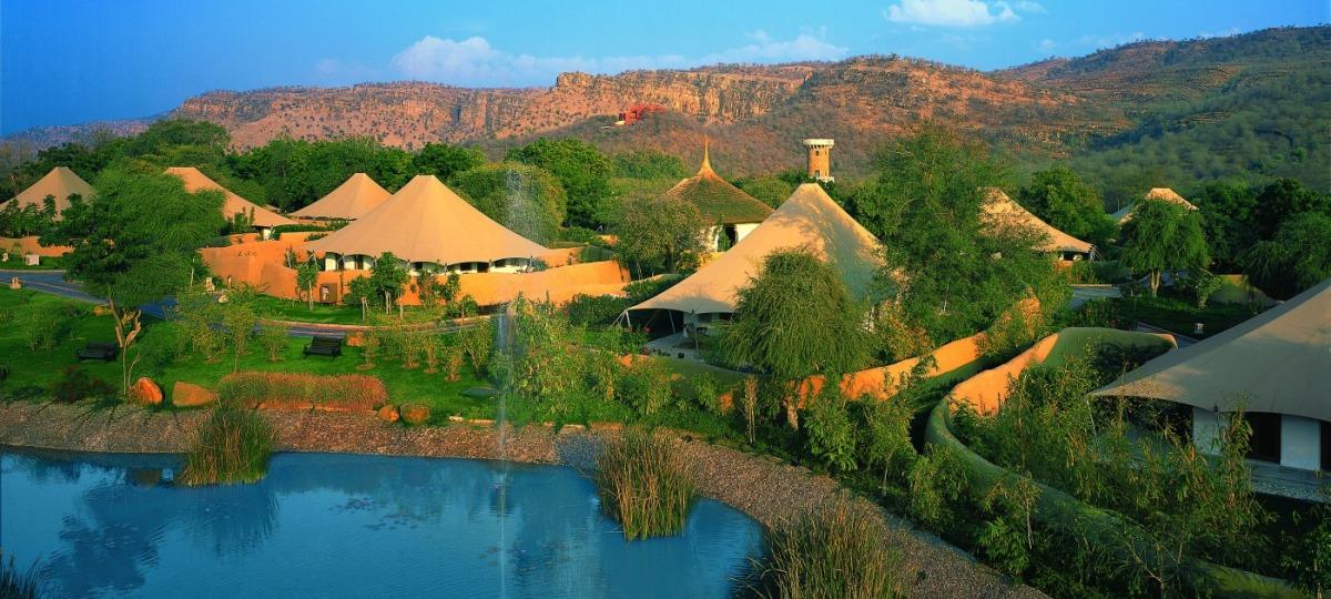 Willkommen im The Oberoi Vanyavilas Wildlife Resort