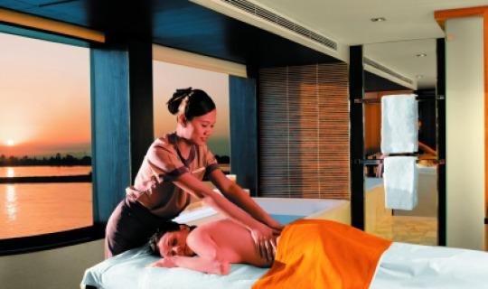 Entspannen Sie bei einer Massage
