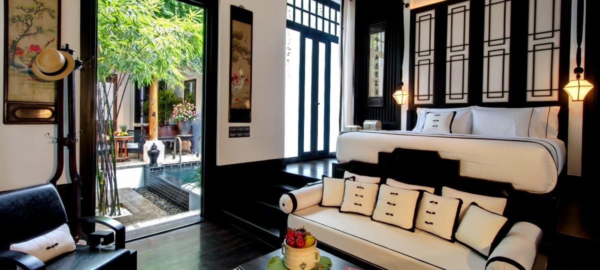 Liebe zum Detail der Suiten und Villen