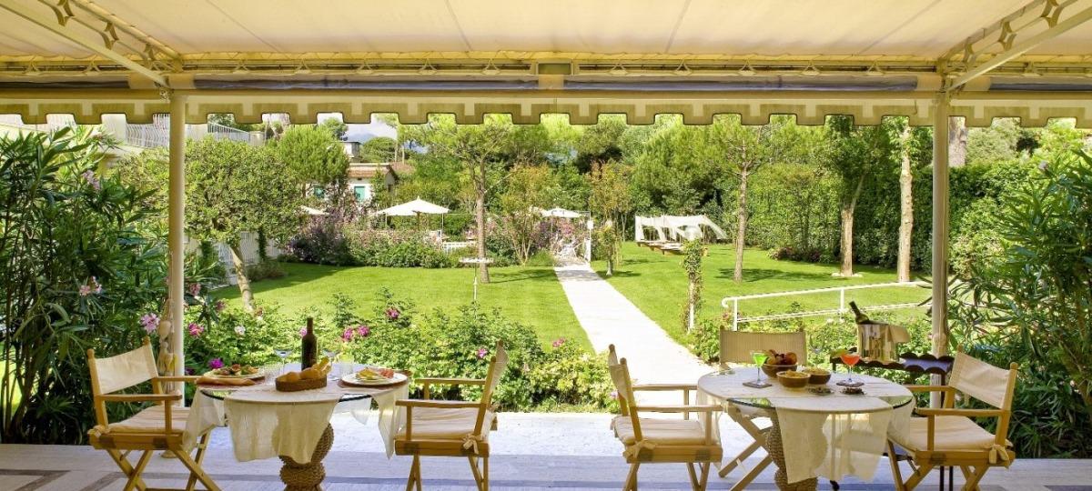 Fabelhafte Gartenanlage