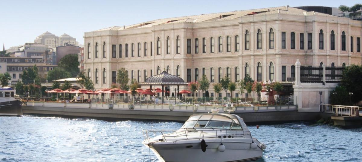 Herzlich Willkommen im Four Seasons at the Bosporus