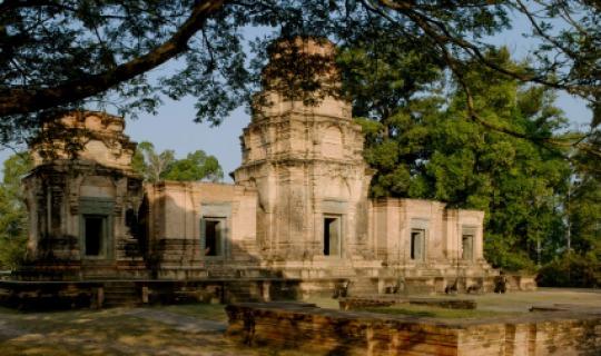 Erkunden Sie die spektakulären  Tempel von Angkor Wat