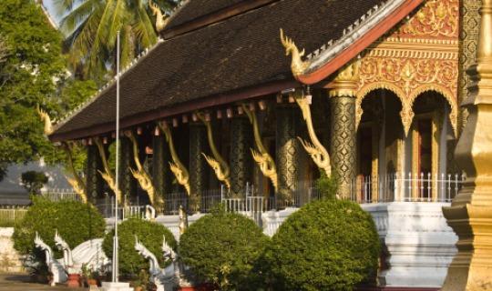 Der beeindruckende Tempel Wat Ho Siang