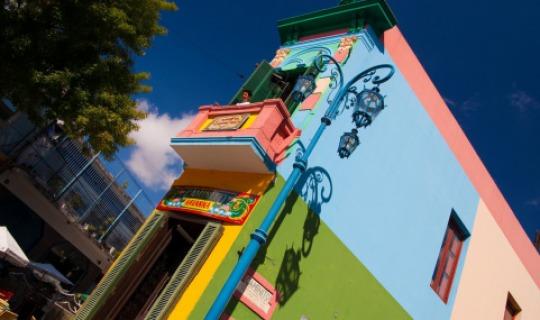 Buenos Aires von seiner farbenfrohen Seite