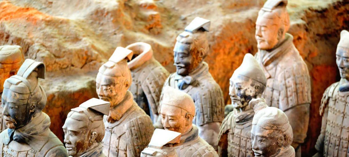 Die geheimnisvollen Tonkrieger der Terrakotta Armee
