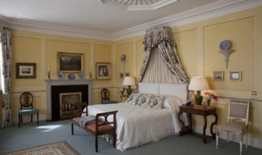 Romantische, einfaches Zimmer