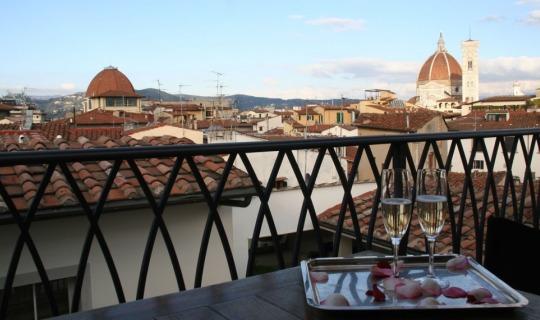 Genießen Sie den Blick über Mailand