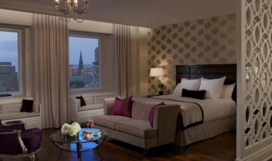 Gemütliches Ambiente im Ritz Carlton