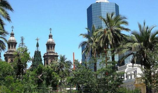 Santiago - Weltmetropole in Chile