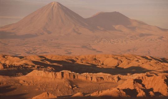 Malerische Atacama Wüste