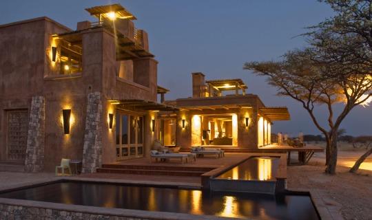 Abendstimmung im Onguma -The Fort