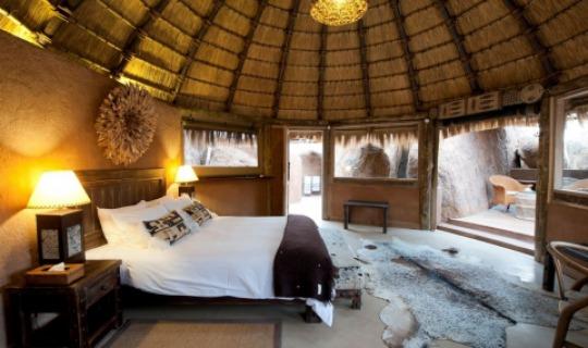 Eine Suite im Mowani Mountain Camp