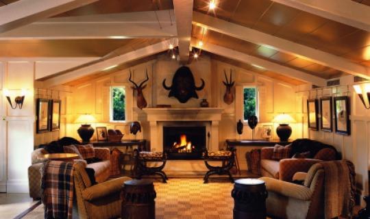 Gemütliche Stimmung in der Huka Lodge