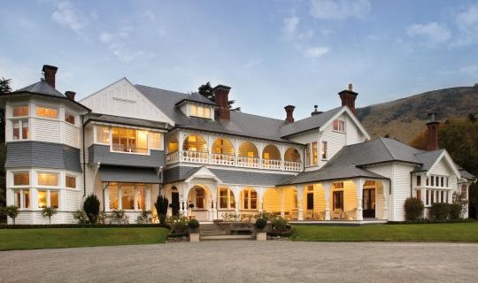 Das zauberhafte Anwesen der Otahuna Lodge
