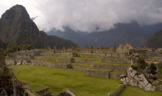 Die Inkastätte Machu Picchu