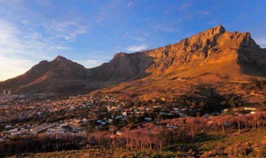 Der majestätische Tafelberg