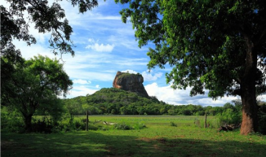 Sigiriya - der Löwenfelsen