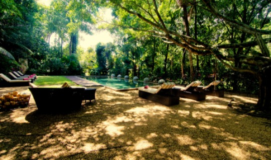 Ein zauberhafter Garten erwartet Sie im Wallawwa