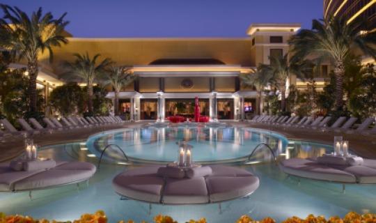 Der wunderschöne Pool im Wynn/Encore