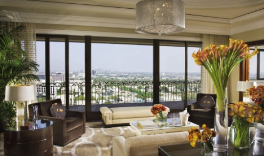 Eine der Suiten im Beverly Wilshire