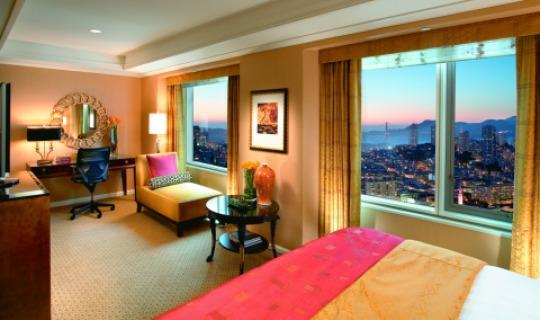 Ein Zimmer im Mandarin Oriental