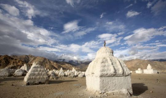 Typisch buddhistische Tempel - Gompa