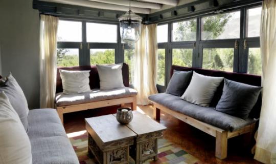 Das Wohnzimmer Ihres gemütlichen Berghäuschens